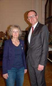 20141202 Annegret Keller-Steegmann_Oberbürgermeister Sören Link